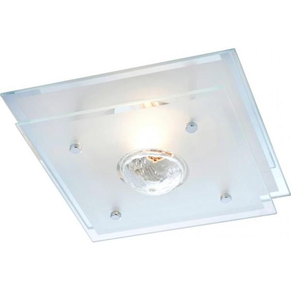 Plafonier cu cristal Malaga 48328 GL, Plafoniere moderne, Corpuri de iluminat, lustre, aplice a