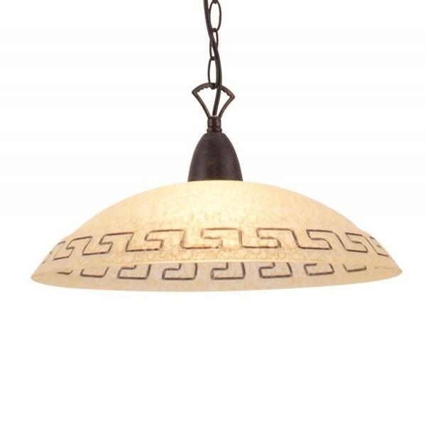 Pendul diametru 42cm Rustica 68840 GL, ILUMINAT INTERIOR RUSTIC, Corpuri de iluminat, lustre, aplice a