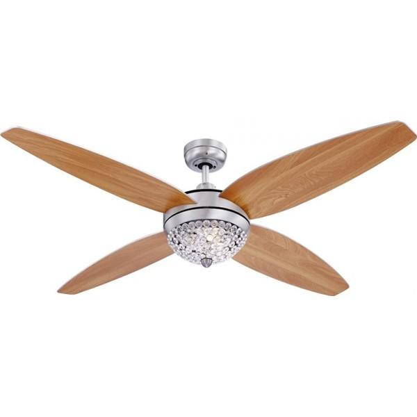 Lustra Ventilator telecomanda, palete ventilatie in doua culori Azalea 0342 , Rezultate cautare, Corpuri de iluminat, lustre, aplice a