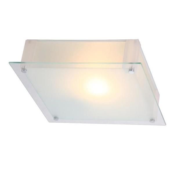 Plafoniera 28cm x 28cm Quadro 48320 GL, Plafoniere moderne, Corpuri de iluminat, lustre, aplice a