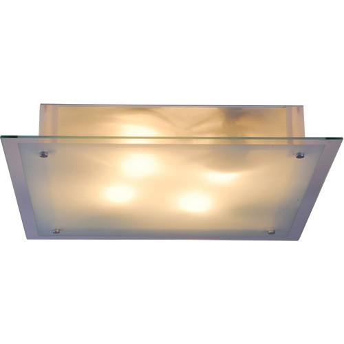 Plafoniera Quadro 48322 GL, Plafoniere moderne, Corpuri de iluminat, lustre, aplice a