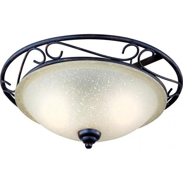 Plafonier diam. 37cm Rustica II 4413-2 GL, Plafoniere, Spots, Corpuri de iluminat, lustre, aplice, veioze, lampadare, plafoniere. Mobilier si decoratiuni, oglinzi, scaune, fotolii. Oferte speciale iluminat interior si exterior. Livram in toata tara.  a