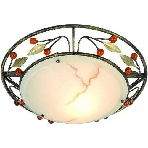 Plafonier diametru 34,5cm Savanna 44130-1 GL, Plafoniere, Spots, Corpuri de iluminat, lustre, aplice, veioze, lampadare, plafoniere. Mobilier si decoratiuni, oglinzi, scaune, fotolii. Oferte speciale iluminat interior si exterior. Livram in toata tara.  a