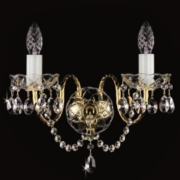 Aplica de perete cristal Swarovski Spectra Varvara II SP, Aplice Cristal Bohemia, Corpuri de iluminat, lustre, aplice, veioze, lampadare, plafoniere. Mobilier si decoratiuni, oglinzi, scaune, fotolii. Oferte speciale iluminat interior si exterior. Livram in toata tara.  a