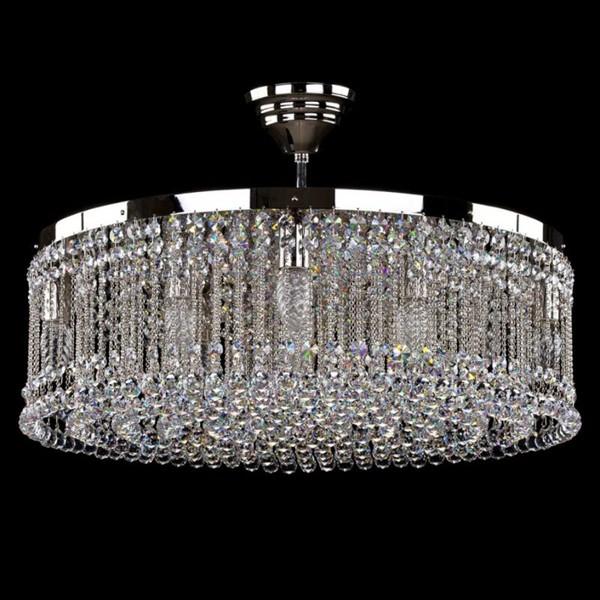 Plafonier cristal Swarovski Spectra diametru 60cm Persida SP, Plafoniere Cristal Swarovski, Corpuri de iluminat, lustre, aplice, veioze, lampadare, plafoniere. Mobilier si decoratiuni, oglinzi, scaune, fotolii. Oferte speciale iluminat interior si exterior. Livram in toata tara.  a
