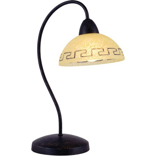 Veioza, lampa de masa Rustica 68840T GL, ILUMINAT INTERIOR RUSTIC, Corpuri de iluminat, lustre, aplice a