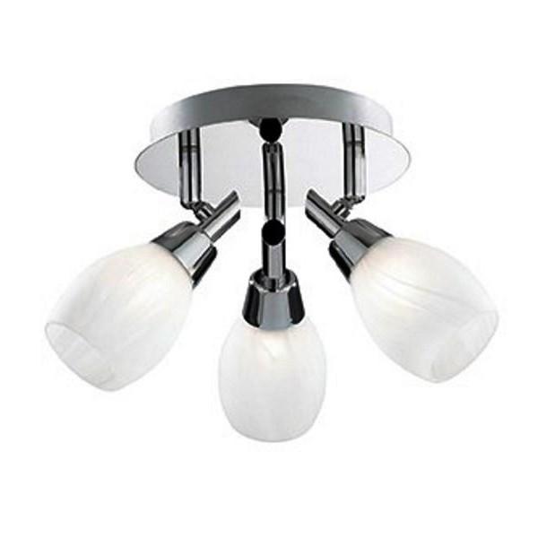 Plafonier reglabil SOFFIO AP3 075075, Spoturi - iluminat - cu 3 spoturi, Corpuri de iluminat, lustre, aplice, veioze, lampadare, plafoniere. Mobilier si decoratiuni, oglinzi, scaune, fotolii. Oferte speciale iluminat interior si exterior. Livram in toata tara.  a