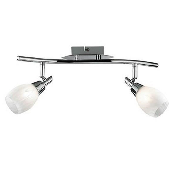 Aplica de perete,Plafonier reglabil SOFFIO AP2 075051, Spoturi - iluminat - cu 2 spoturi, Corpuri de iluminat, lustre, aplice a