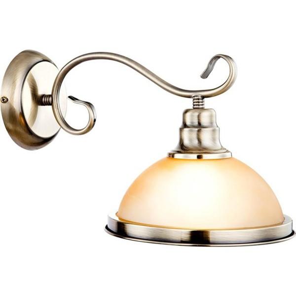 Aplica Sassari 6905-1W GL, Aplice de perete, Corpuri de iluminat, lustre, aplice a