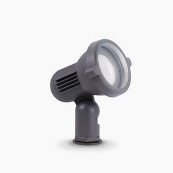 Corp iluminat exterior cu tarus IP65 TERRA PT1 SMALL ANTRACITE 033037 , Proiectoare de exterior cu tarus,  a