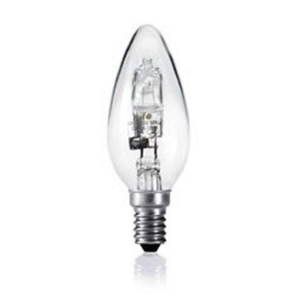Bec halogen E14 28Watt 350Lm OLIVA 39510 , Becuri E14, Corpuri de iluminat, lustre, aplice a