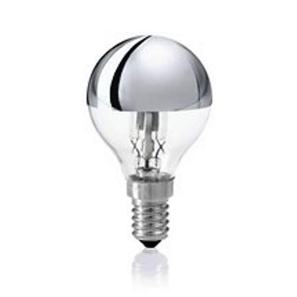 Bec halogen E14 28W A CALOTTA RIFLETTENTE 61917 , Becuri E14, Corpuri de iluminat, lustre, aplice a
