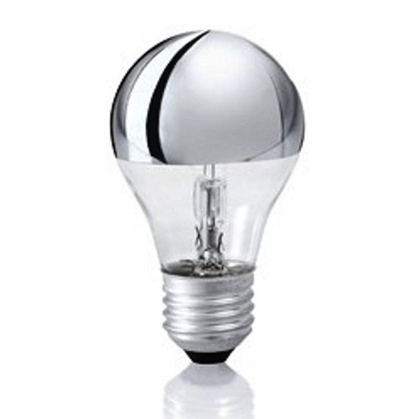 Bec halogen E27 42W A CALOTTA RIFLETTENTE 39893 Ideal Lux, PROMOTII, Corpuri de iluminat, lustre, aplice, veioze, lampadare, plafoniere. Mobilier si decoratiuni, oglinzi, scaune, fotolii. Oferte speciale iluminat interior si exterior. Livram in toata tara.  a