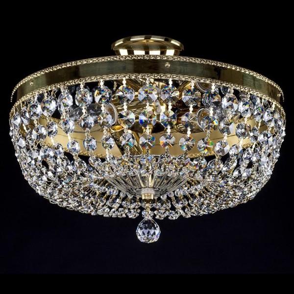 Plafonier cristal Bohemia diametru 35cm Jasna 35 CE, Magazin, Corpuri de iluminat, lustre, aplice, veioze, lampadare, plafoniere. Mobilier si decoratiuni, oglinzi, scaune, fotolii. Oferte speciale iluminat interior si exterior. Livram in toata tara.  a