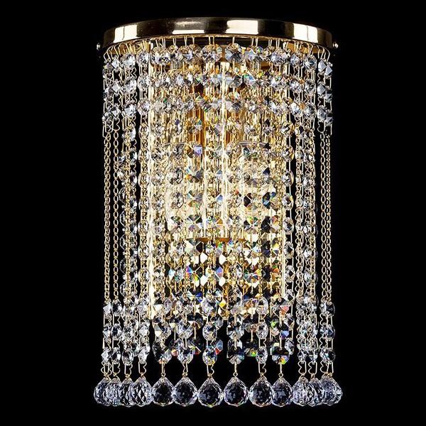 Aplica de perete cristal Bohemia Gwen straight CE, Magazin, Corpuri de iluminat, lustre, aplice, veioze, lampadare, plafoniere. Mobilier si decoratiuni, oglinzi, scaune, fotolii. Oferte speciale iluminat interior si exterior. Livram in toata tara.  a