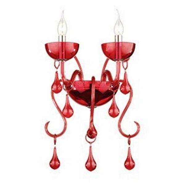 Aplica de perete LILLY AP2 rosso 73446 Ideal Lux, PROMOTII, Corpuri de iluminat, lustre, aplice a