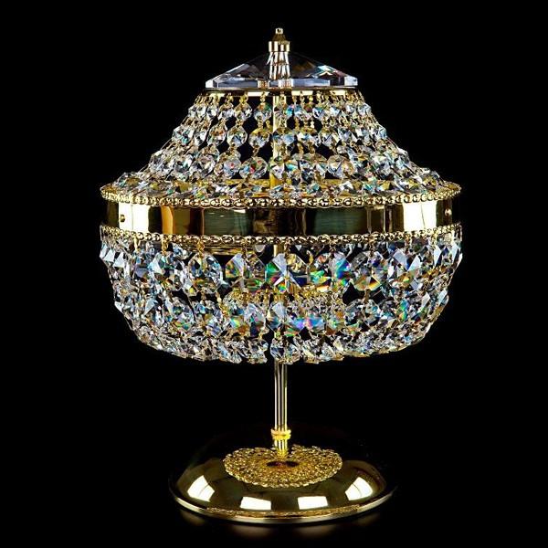 Veioza, lampa de masa cristal Bohemia Penny TL CE, Veioze Cristal Bohemia, Corpuri de iluminat, lustre, aplice a