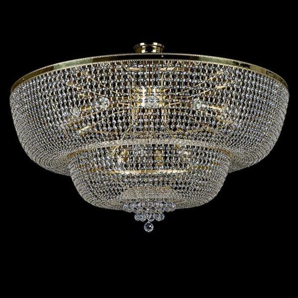 Plafonier cristal Bohemia diametru 120cm Gerta 1200 CE, Magazin, Corpuri de iluminat, lustre, aplice, veioze, lampadare, plafoniere. Mobilier si decoratiuni, oglinzi, scaune, fotolii. Oferte speciale iluminat interior si exterior. Livram in toata tara.  a