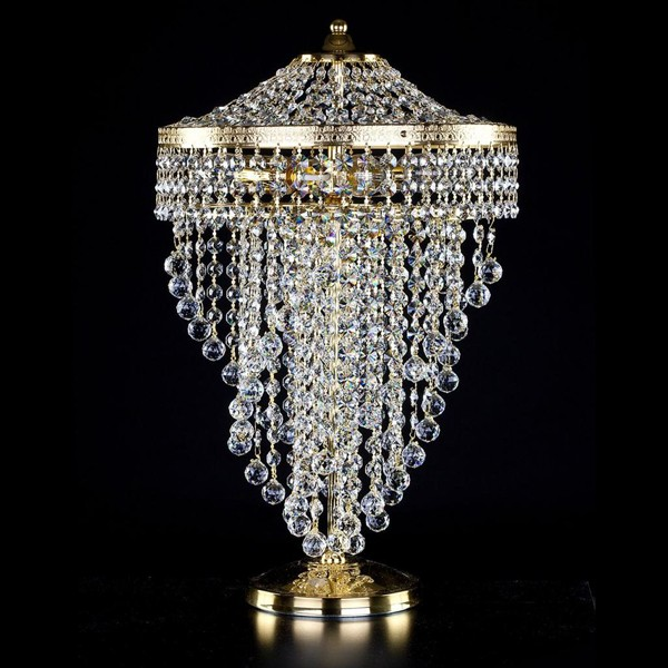 Veioza, lampa de masa cristal Bohemia Wendy TL CE, Veioze Cristal Bohemia, Corpuri de iluminat, lustre, aplice a