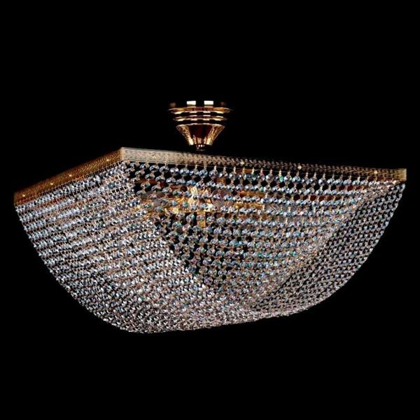 Plafonier cristal Bohemia 49,5x49,5cm Megaira CE, Magazin, Corpuri de iluminat, lustre, aplice, veioze, lampadare, plafoniere. Mobilier si decoratiuni, oglinzi, scaune, fotolii. Oferte speciale iluminat interior si exterior. Livram in toata tara.  a