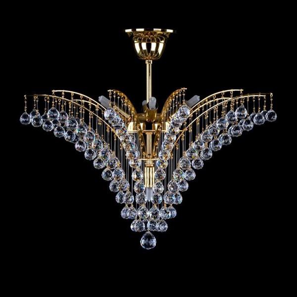 Plafonier cristal Bohemia diametru 48cm Neda I CE, Plafoniere Cristal Swarovski, Corpuri de iluminat, lustre, aplice, veioze, lampadare, plafoniere. Mobilier si decoratiuni, oglinzi, scaune, fotolii. Oferte speciale iluminat interior si exterior. Livram in toata tara.  a