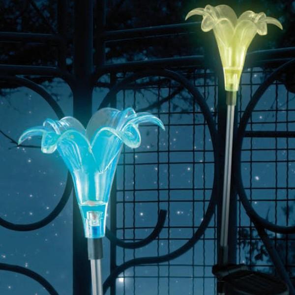 Lampa tarus, Solar decorativa multicolora IP44 LED 33942 GL, Iluminat solare si decorative, Corpuri de iluminat, lustre, aplice a