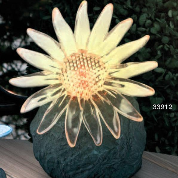 Lampa Solar decorativa IP 44 LED multicolor 33912 GL, Iluminat solare si decorative, Corpuri de iluminat, lustre, aplice a