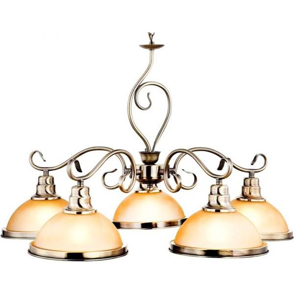 Candelabru diametru 65cm Sassari 6905-5 GL, ILUMINAT INTERIOR RUSTIC, Corpuri de iluminat, lustre, aplice a
