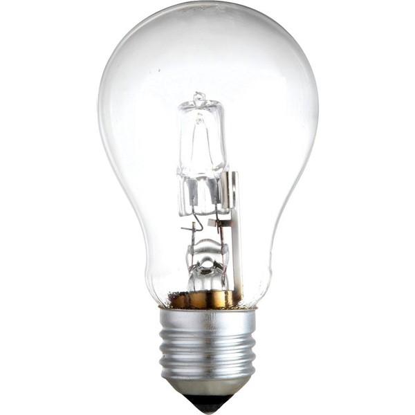 Set 2 buc. bec halogen E27 42Watt consum = 60Watt dimabil 11242-2A GL, Becuri E27, Corpuri de iluminat, lustre, aplice, veioze, lampadare, plafoniere. Mobilier si decoratiuni, oglinzi, scaune, fotolii. Oferte speciale iluminat interior si exterior. Livram in toata tara.  a