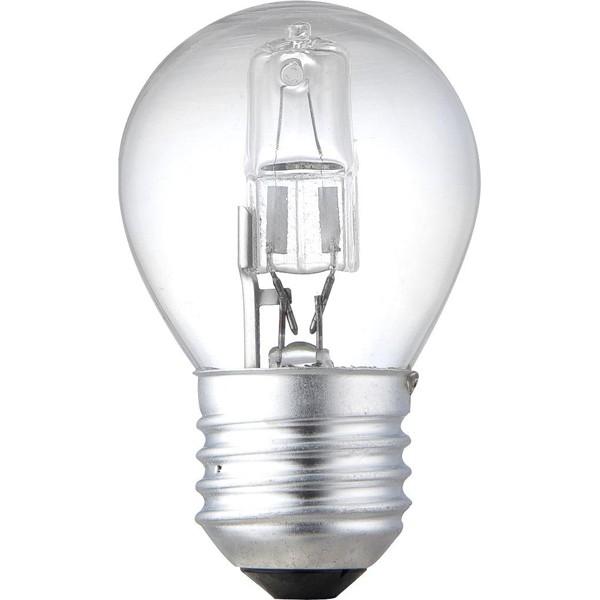 Set 2 buc. bec halogen E27 ILLU 28Watt consum = 40Watt dimabil 11728-2A GL, Becuri E27, Corpuri de iluminat, lustre, aplice, veioze, lampadare, plafoniere. Mobilier si decoratiuni, oglinzi, scaune, fotolii. Oferte speciale iluminat interior si exterior. Livram in toata tara.  a