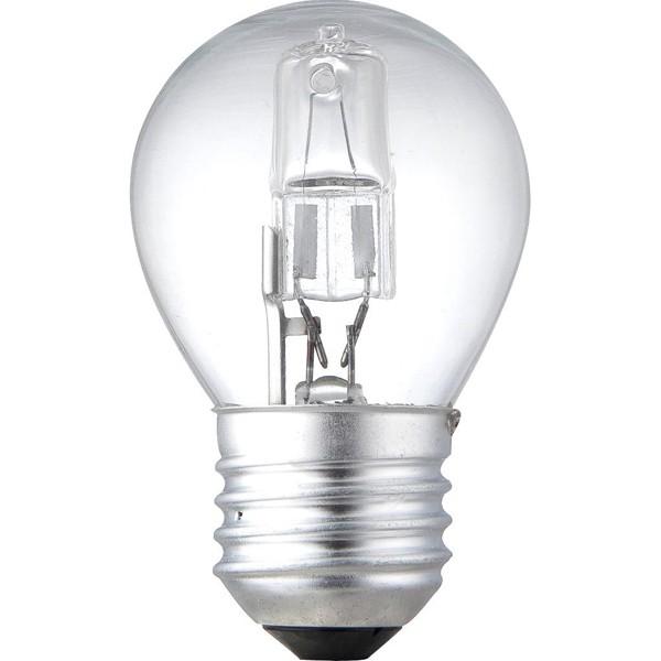 Set 2 buc. bec halogen E27 ILLU 42Watt consum = 60Watt dimabil 11742-2A GL, Becuri E27, Corpuri de iluminat, lustre, aplice, veioze, lampadare, plafoniere. Mobilier si decoratiuni, oglinzi, scaune, fotolii. Oferte speciale iluminat interior si exterior. Livram in toata tara.  a