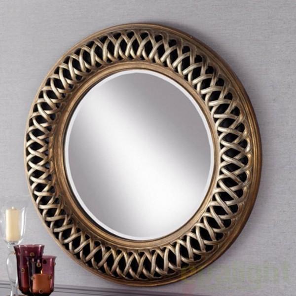 Oglinda decorativa diam. 114cm Classic 302915, MOBILA SI DECORATIUNI , Corpuri de iluminat, lustre, aplice a