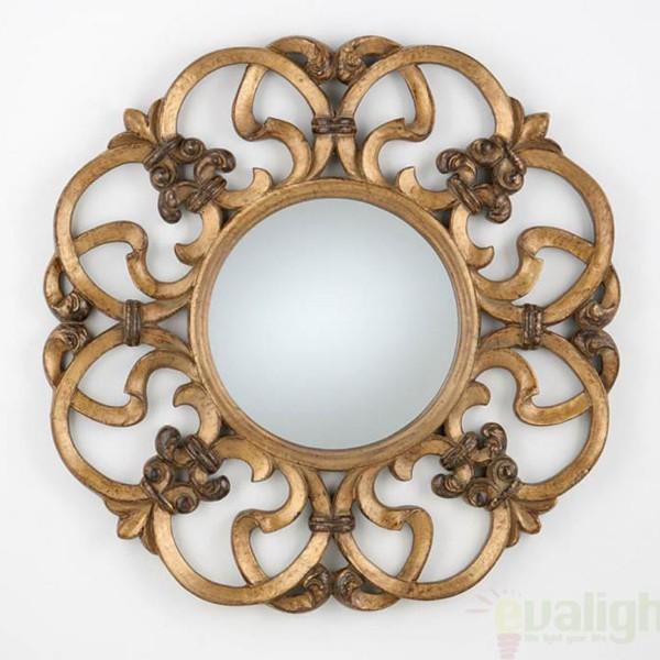 Oglinda decorativa diam.80cm Classic 306617, MOBILA SI DECORATIUNI , Corpuri de iluminat, lustre, aplice a