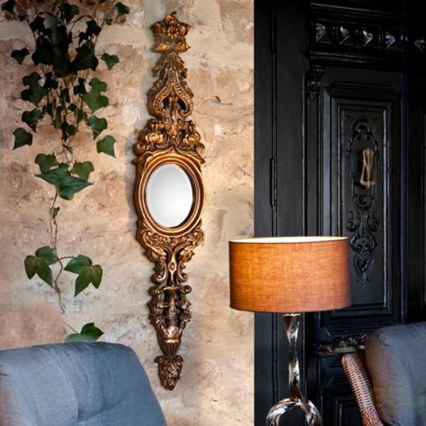 Oglinda decorativa dim. 124x23cm Classic 307415, MOBILA SI DECORATIUNI , Corpuri de iluminat, lustre, aplice, veioze, lampadare, plafoniere. Mobilier si decoratiuni, oglinzi, scaune, fotolii. Oferte speciale iluminat interior si exterior. Livram in toata tara.  a