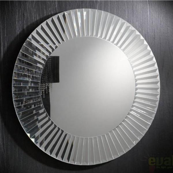 Oglinda decorativa moderna diam.100cm Zeus 29-E13, MOBILA SI DECORATIUNI , Corpuri de iluminat, lustre, aplice, veioze, lampadare, plafoniere. Mobilier si decoratiuni, oglinzi, scaune, fotolii. Oferte speciale iluminat interior si exterior. Livram in toata tara.  a