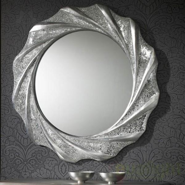 Oglinda decorativa diam.97cm Gaudi 131217, MOBILA SI DECORATIUNI , Corpuri de iluminat, lustre, aplice a
