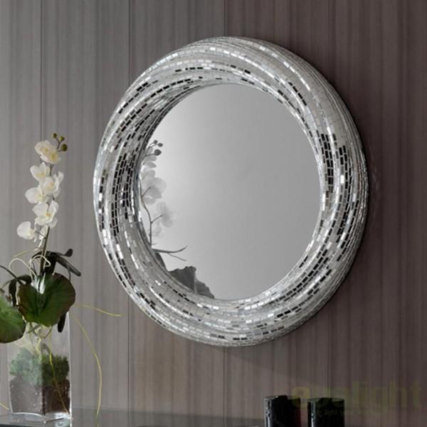 Oglinda decorativa Gaudi diam.84cm Rodas 392011, MOBILA SI DECORATIUNI , Corpuri de iluminat, lustre, aplice a