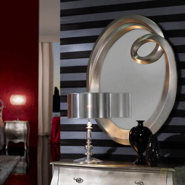 Oglinda decorativa avangard Ronda 305920, MOBILA SI DECORATIUNI , Corpuri de iluminat, lustre, aplice a