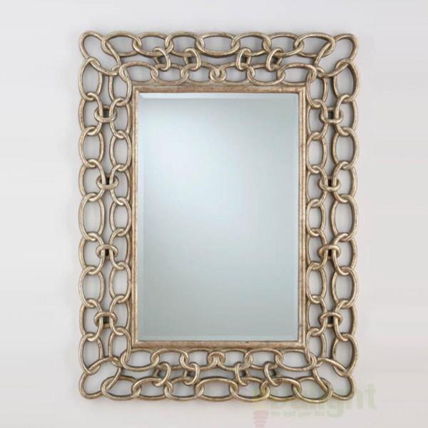 Oglinda decorativa avangard Eslabones 306718, MOBILA SI DECORATIUNI , Corpuri de iluminat, lustre, aplice a