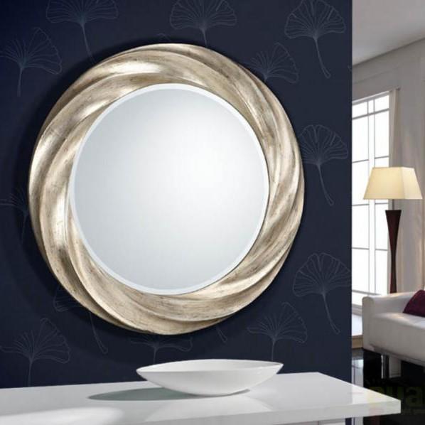 Oglinda decorativa avangard diam. 76cm Rodas 313714, MOBILA SI DECORATIUNI , Corpuri de iluminat, lustre, aplice a