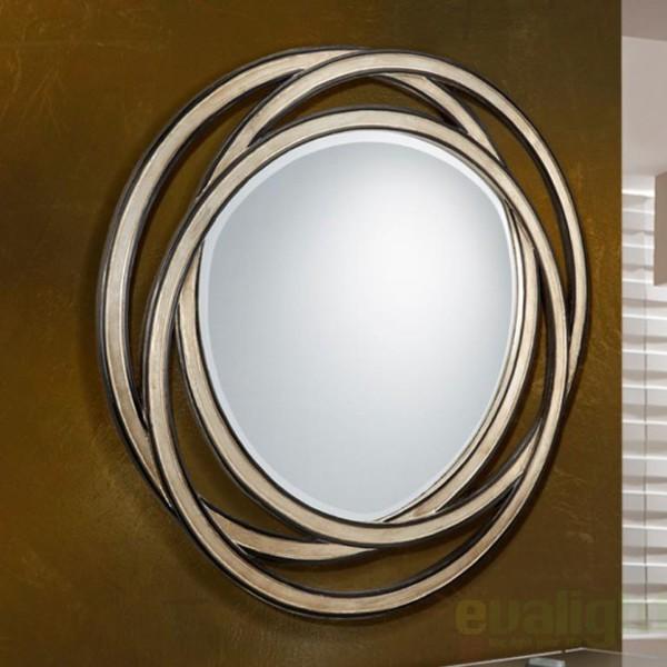 Oglinda decorativa avangard diam. 102cm Aros 313815, MOBILA SI DECORATIUNI , Corpuri de iluminat, lustre, aplice a