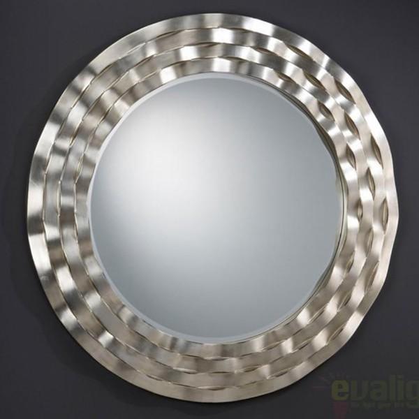 Oglinda decorativa avangard diam. 117cm Ondas 342919, MOBILA SI DECORATIUNI , Corpuri de iluminat, lustre, aplice a