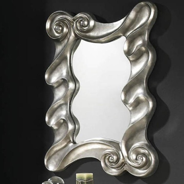 Oglinda decorativa avangard dim.110x80cm Olas 770315, MOBILA SI DECORATIUNI , Corpuri de iluminat, lustre, aplice a