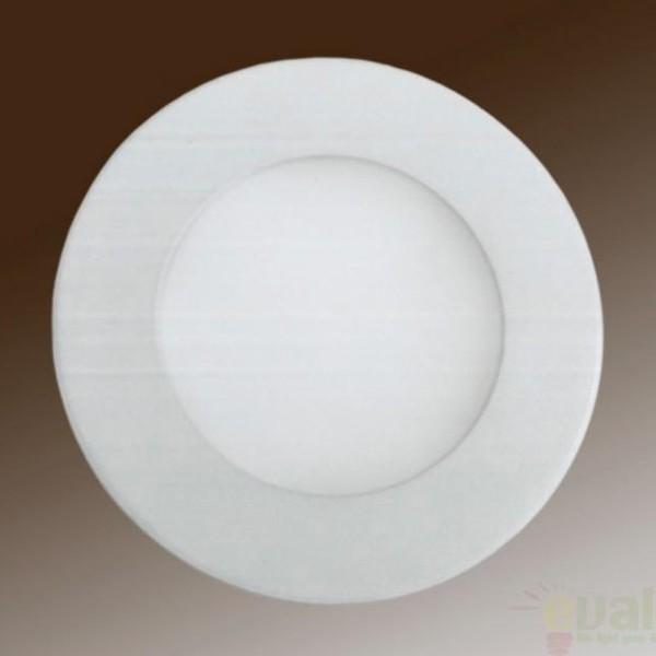 Spot incastrabil, lumina alba calda, diam.10cm LED 760729, Spoturi LED incastrate, aplicate, Corpuri de iluminat, lustre, aplice a