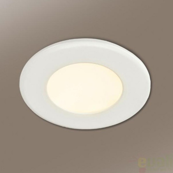 Spot incastrabil, lumina alba calda, diam.10cm LED marca LG 760729L, Spoturi LED incastrate, aplicate, Corpuri de iluminat, lustre, aplice a