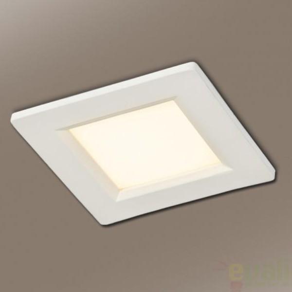 Spot incastrabil, lumina alba calda, dim.11x11cm LED marca LG 760836L, Spoturi LED incastrate, aplicate, Corpuri de iluminat, lustre, aplice a
