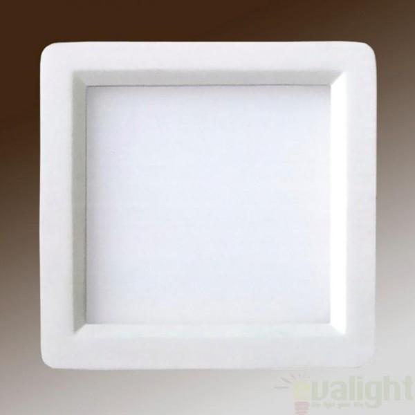 Spot incastrabil, lumina alba calda, dim.20x20cm LED 761293, Spoturi LED incastrate, aplicate, Corpuri de iluminat, lustre, aplice, veioze, lampadare, plafoniere. Mobilier si decoratiuni, oglinzi, scaune, fotolii. Oferte speciale iluminat interior si exterior. Livram in toata tara.  a