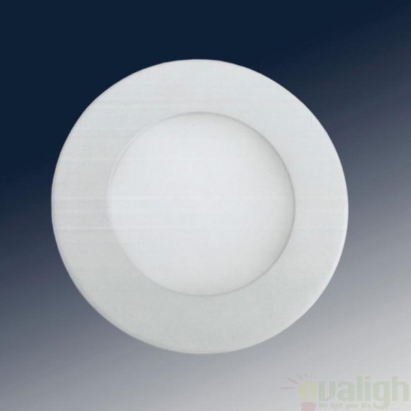 Spot incastrabil, lumina alba, diam.10cm LED 761754, Spoturi LED incastrate, aplicate, Corpuri de iluminat, lustre, aplice a