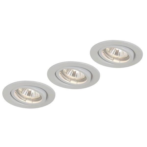 Spot  set de 3 buc. 12112-3, Spoturi incastrate, aplicate - tavan / perete, Corpuri de iluminat, lustre, aplice a