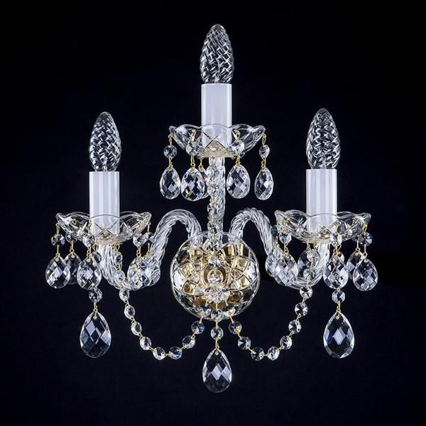Aplica de perete cristal Bohemia MAGGIE III. va WL CE, Aplice Cristal Bohemia, Corpuri de iluminat, lustre, aplice, veioze, lampadare, plafoniere. Mobilier si decoratiuni, oglinzi, scaune, fotolii. Oferte speciale iluminat interior si exterior. Livram in toata tara.  a